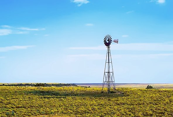 Picture of the West Texas Prairie.